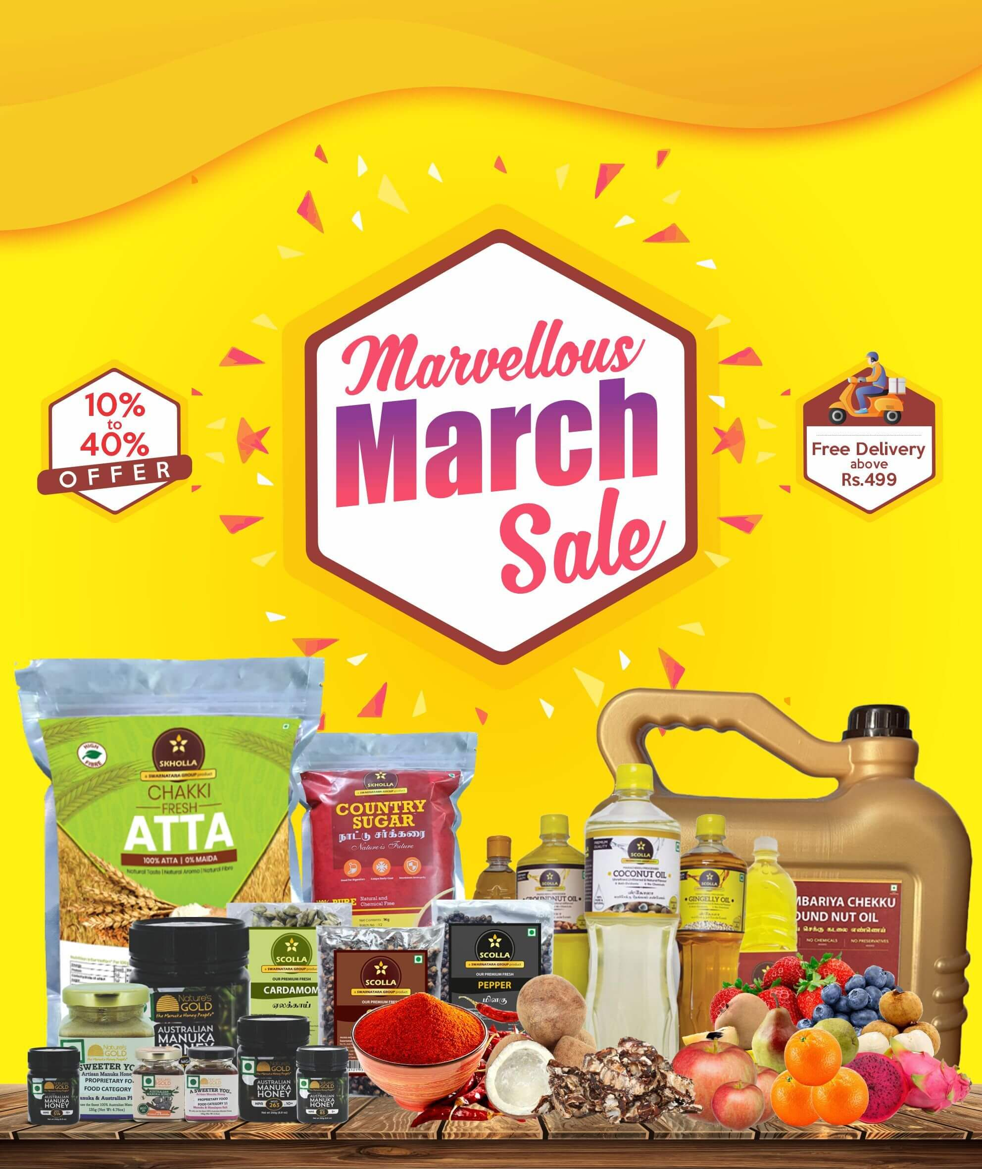 marvellous march sale fruits online in chennai