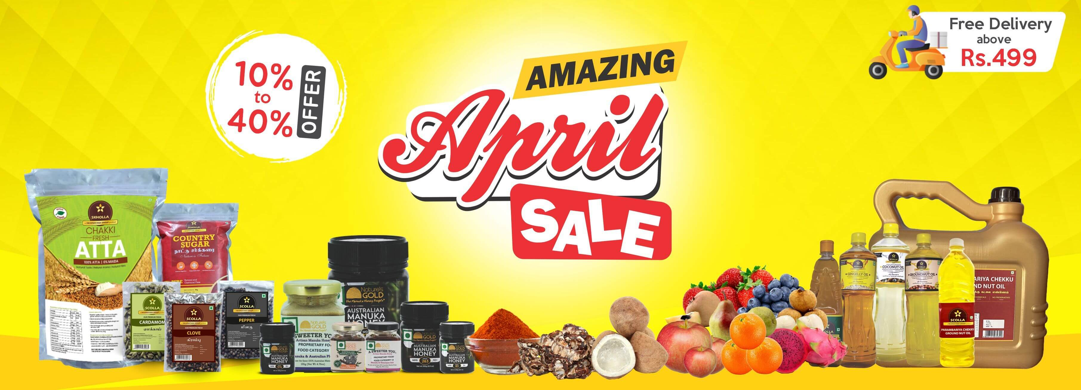 Amazing April Sale Online in Chennai