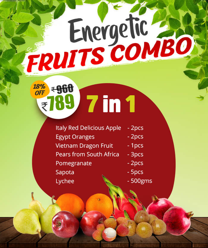energetic combo fruits  in chennai