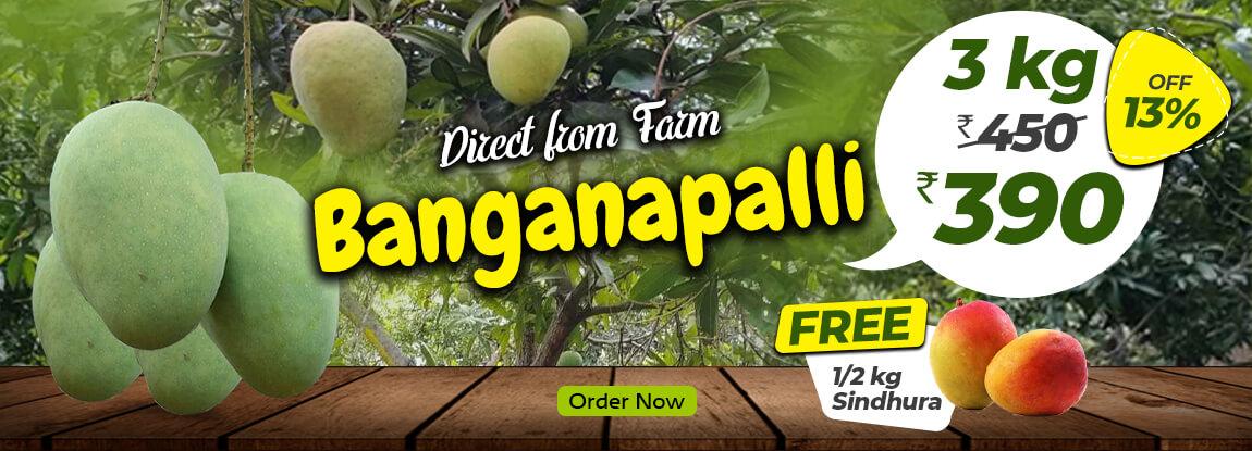 3kg Banganapalli  Mango Fruits in chennai