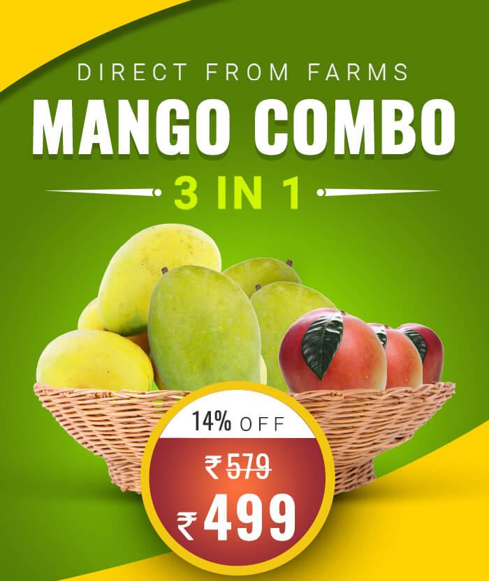 Mango Combo fruits online in chennai