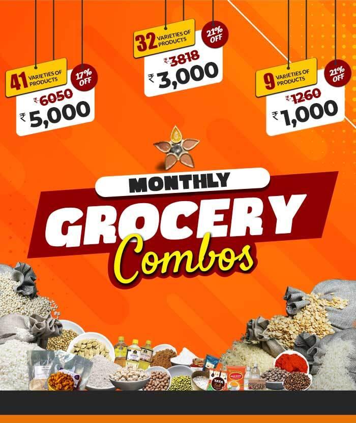 buy 5k grocery combo shopping chennai