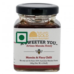 MANUKA HONEY WITH CHILLI 140g