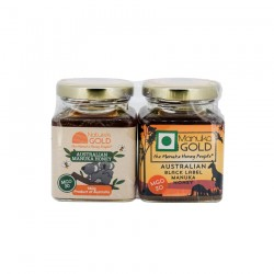 MANUKA HONEY  MGO 30 – KANGAROO 2 jars 140g gift