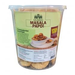 Skholla's Mumbai Masala Papdi with digestive dip