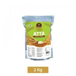 Buy Skholla chakki fresh atta Pack of 2 kg Online In Chennai