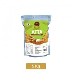 Buy Skholla chakki fresh atta Pack of 5 kg Online In Chennai