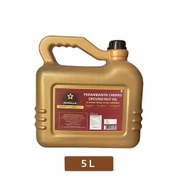 Skholla parambariya  chekku groundnut oil / nilakadalai ennai 5 litre oil
