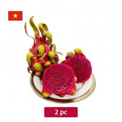 Vietnam pink dragon fruit 2 piece