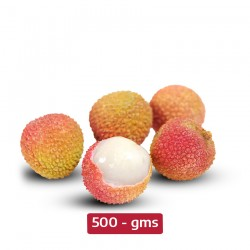 Lychee fruit pack of 500 gram
