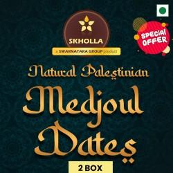Skholla Palestinian Medjoul Dates (2 box)