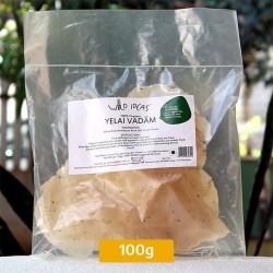 White Rice Yelai Vadam 100g Pack