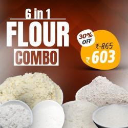 6 in 1 Flour Combo