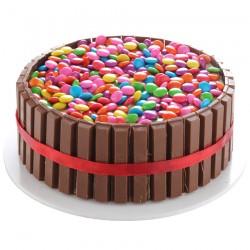 Kitkat & Gems cake -1 Kg