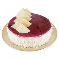 Buy White chocolate blackcurrant cake - 1 Kg Online In Chennai