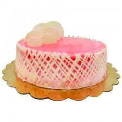 Buy White chocolate strawberry cake - 1 Kg Online In Chennai