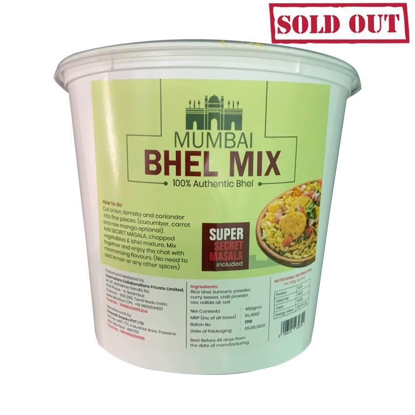 Buy Skholla Mumbai Tub Bhel Mix Online In Chennai