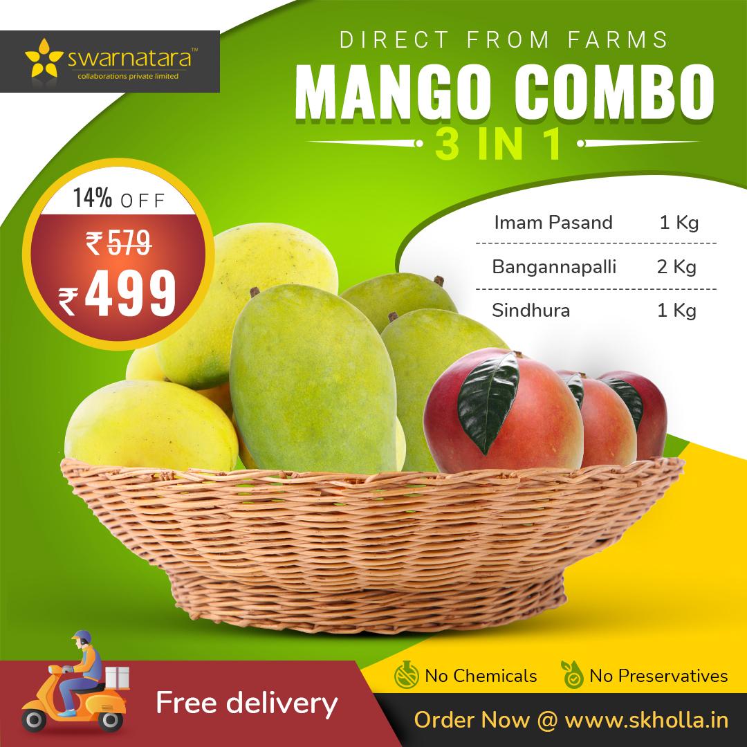Buy Mango 3 in 1 Combo Online In Chennai