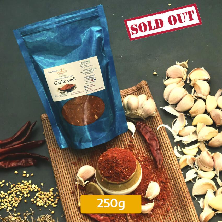Buy Garlic podi 250gms Online In Chennai